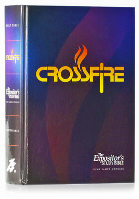 The Expositor's Study Bible Crossfire Edition by Jimmy Swaggart New Hardcover