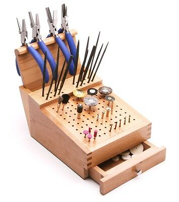 Wooden Bur and File Organizer