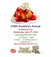 LFMH Auxiliary Annual Strawberry Fest