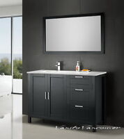⎷⎛Contemporary Bathroom Vanity & Cabinet Urban Flare UF48R