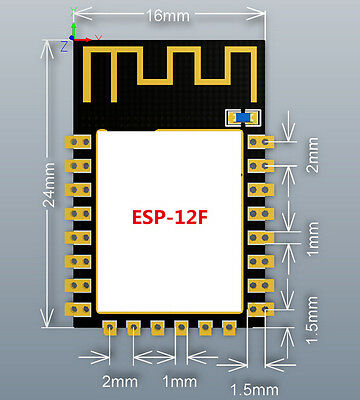 5pcs esp8266 remote serial port wifi transceiver
