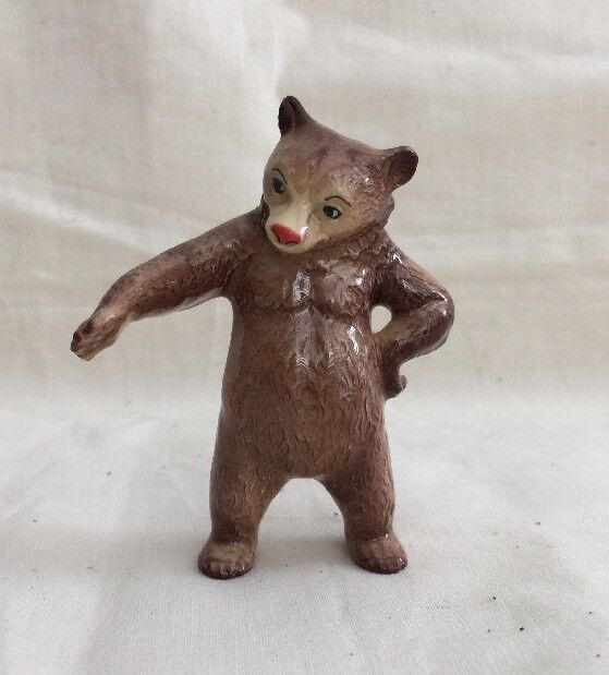 Hagen Renaker Miniature Standing Bear