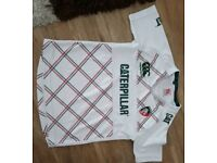 Boys Age 8 Leicester tigers shirts