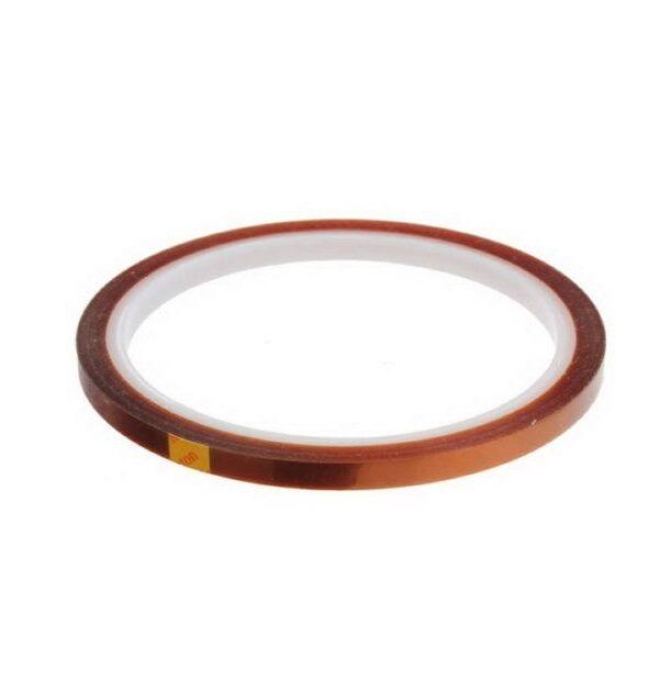 5mm 100ft Kapton Tape BGA High Temperature Heat Resistant Polyimide Gold