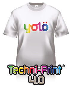 10x A4 Techni-Print® 4.0 Photo-Quality Laser Heat Transfer Paper for Lights