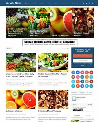 Healthcare Store - Established Online Business Website For Sale Mobile Friendly