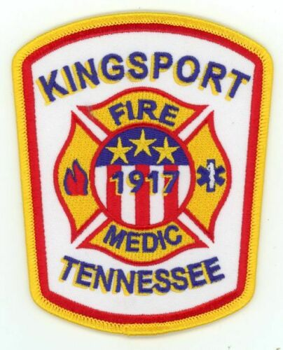 KINGSPORT TENNESSEE TN FIRE DEPARTMENT NEW PATCH RESCUE EMS POLICE SHERIFF