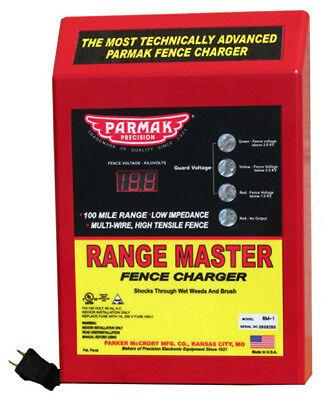 Range Master Advanced Parmak Fence Charger Digital Meter 145638