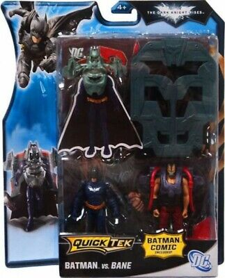 The Dark Knight Rises QuickTek Batman vs. Bane Action Figure 2-Pack [Black Suit]](Bane Suit)