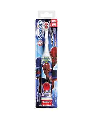Arm - Hammer Kid's Spinbrush Spider-man 1 Each (pack Of 4)