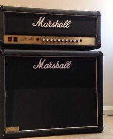 Marshall jcm 900 + 2x12 cab