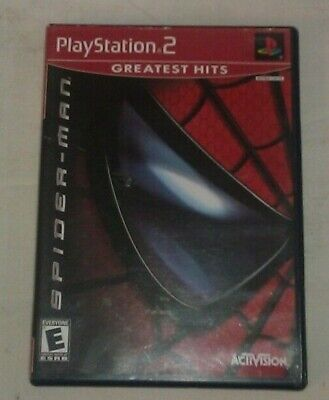 Spider-Man Greatest Hits (Sony PlayStation 2, 2002)PS2 Complete CIB