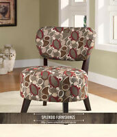 BRAND NEW!! OBLONG PATTERN ACCENT CHAIRS