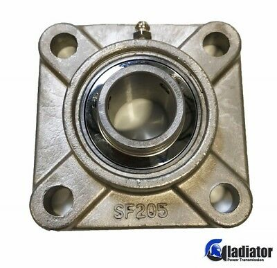 Sucsf205-16 - 1 Stainless Steel 4-bolt Flange Bearing - Gladiator Brand
