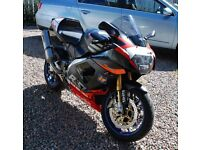 2002 APRILIA RSV Mille R, 14k with extras, getting scarce and collectable. R.O.I duty already paid.