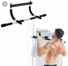New Upper Body Pull up Gym, counter lever,No door damage, Was £36, Sell £18