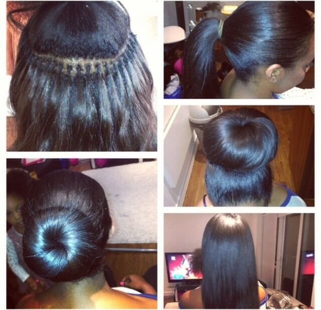 Mobile Hairdresser, Brazilian Knots from £75, Weave on, Brazilian hair extension and more
