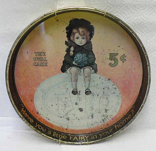 OLD FAIRY SOAP TIN TRAY