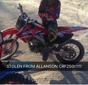 CRF250r 2008 STOLEN Collie Collie Area Preview