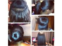 Brazilian knots, Tape, Mirco Rings, tracks, Peruvian hair, mobile, Nano rings, keratine bond, weave