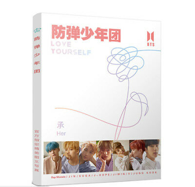 Kpop Bts Love Yourself Photo Album Bangtan Boys Lyrics Book Give Poster Bookmark
