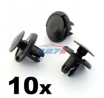 10x Honda Civic Wheel Arch Lining & Splashguard Clips- 8mm Plastic Rivets