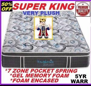 New Mattress Super King Pillow Top. Rent To Keep Option. Ipswich Region Preview