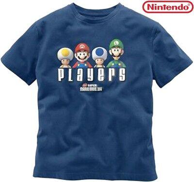 NEU ORIG. NINTENDO LIZENZWARE! T-SHIRT SUPER MARIO BROS LUIGI TOAD S M L *313050 (Mario Bros Toad)