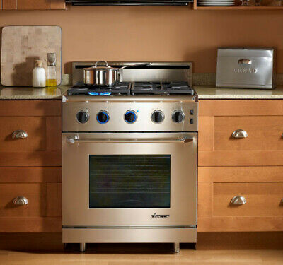 Dacor Renaissance ER30GISCH/LP 30 Inch FreestandingPropane  Gas Range Stainless, used for sale  Baltimore