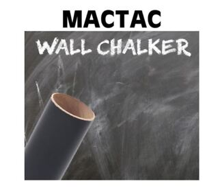 "24"" X 1YD Black Wall Chalker Removable Vinyl chalkboard vinyl"