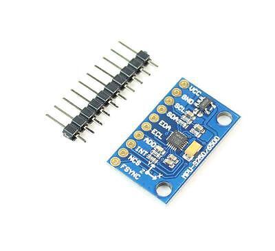 9d0f Mpu 9250 Spiiic 9-axis Attitude Gyro Accelerator Magnetometer Module