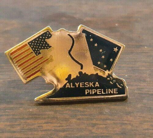 Vintage Alyeska Alaska Pipeline Pin