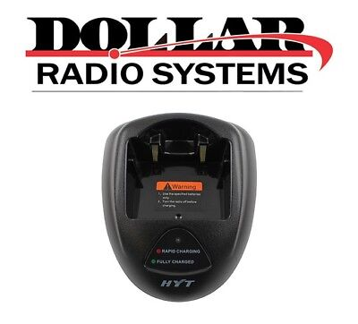 Used Hyt Ch10l08 Charger Kit For Tc-3600 Tc-3000 Radios