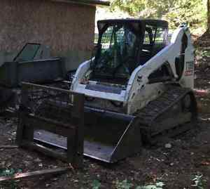 Bobcat T-190 with 3 attachments Comox / Courtenay / Cumberland Comox Valley Area image 2