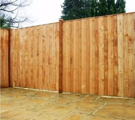 brand new 2 fence panels. 5ft x 6ft Vertical Hit and Miss Fence Panel Dip-treated & FSC-ce