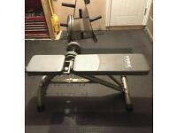 Weight bench york