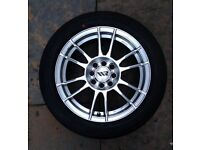 15inch Ripspeed Alloy Wheels 4x108/4x100 pcd