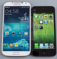 Want to trade a Samsung galaxy S4 for a iPhone 5