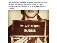 Looking for barbers chair £55 week rent