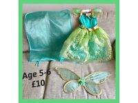 FAIRY DRESS UP OUTFIT age 3-6