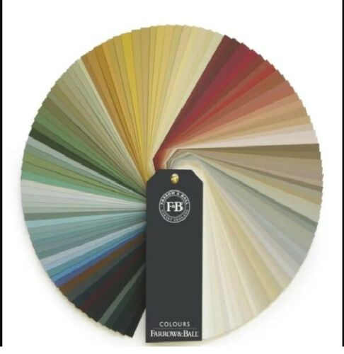 Farrow and Ball Colour Fan Architectural Fan Deck Farrow & ball
