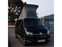 Top Spec Volkswagen Transporter 4 Berth T6 Campervan LWB