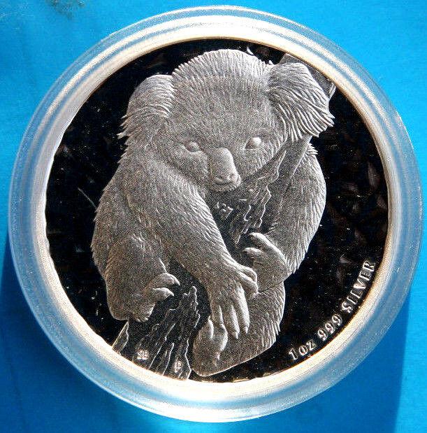 1oz Koala 2007 2020 mit 9991000 ag Silber Australien Privy Mark Zubehör