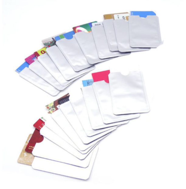 Купить IT GOV Security - 10 pcs Credit Card Protector Secure Sleeves RFID Blocking ID Holder Foil Shield