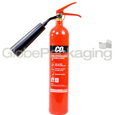 Brand New 2kg CO2 Fire Extinguisher For Home Office Industrial Use *OFFER*