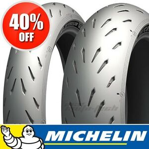 █ WOW - 40% OFF █ MICHELIN PILOT POWER RS Motorcycle Tires 3 2CT