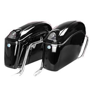 amazoncom ego bike black motorcycle trunk tour pack - 619×619