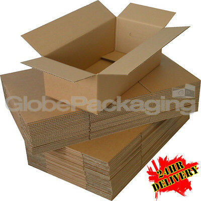25 x HIGH GRADE 12x9x5 MAILING POSTAGE CARDBOARD BOXES 12