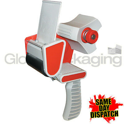 "1 HEAVY DUTY BOX PACKING TAPE GUN DISPENSER 50mm (2"")"