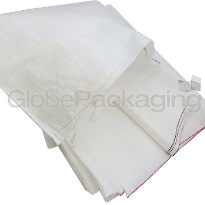 15 WOVEN POLYPROPYLENE RUBBLE BUILDER SACKS BAGS 22x36